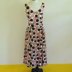 NWT ANNE KLEIN confetti dot dress
